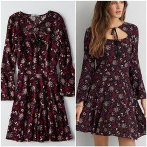*2 for $10* American Eagle Bell Sleeve Dress